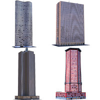 skyscrapers b 3D