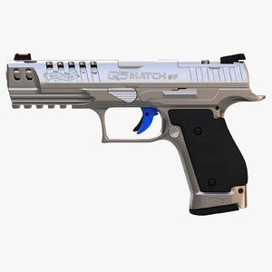 walther q5 sf steel 3D model