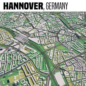 3D model city hannover