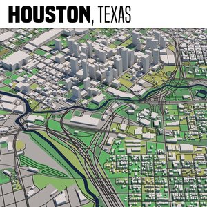 city houston 3D model