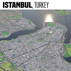 3D city istanbul