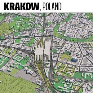 city krakow 3D