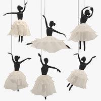 Ballet Hanging Decoration