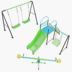 3D kids playground