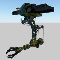 mechanical machine 3D model