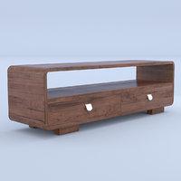 3D sideboard wooden model
