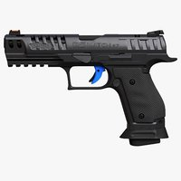 3D model walther q5 sf