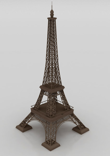 eiffel replica 3D