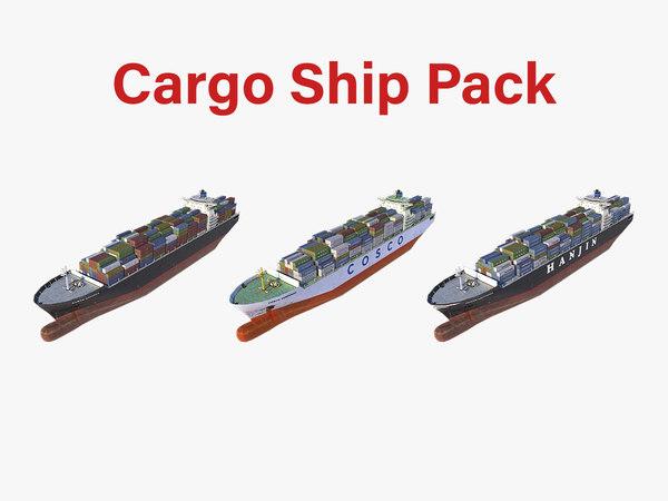 cargo ship pack model