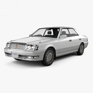 toyota crown hardtop 3D model