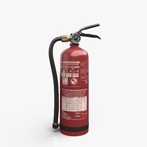 extinguisher tool industrial 3D