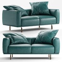 flou binario sofa 3D model