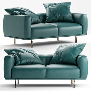 flou binario sofa 3D model