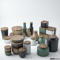 ceramic pottery model