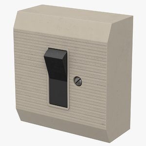 used switch 3D model