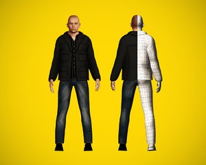 citizen character 3D