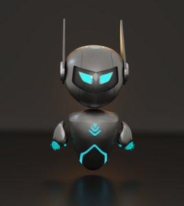 robo future robot 3D