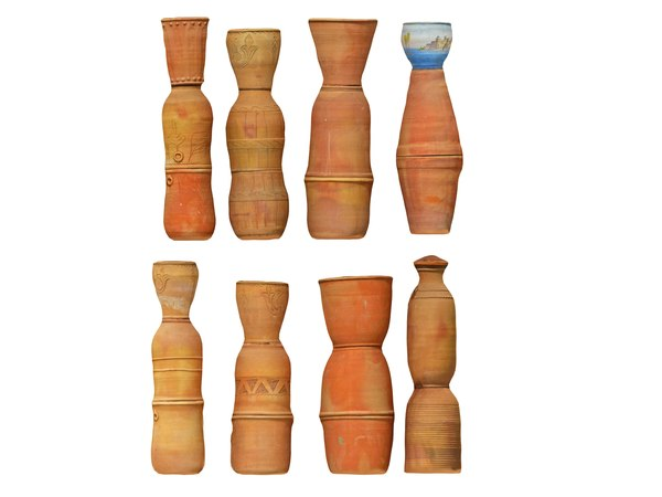 moroccan pitchers pack 8 3D