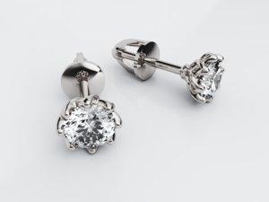3D glorious earrings 8 model