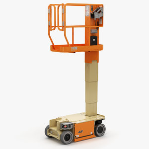 jlg 1230es driveable vertical 3D model