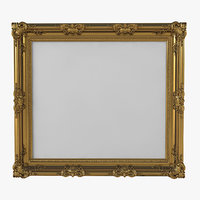 classic picture frame 3D model