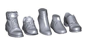 3D realistic shoes