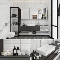 3D contemporary bathroom