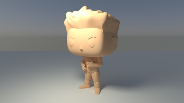 custom angry face printable 3D model
