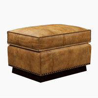 Ralph Lauren Colorado Club Ottoman