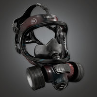 Gas Mask (BHE) - PBR Game Ready