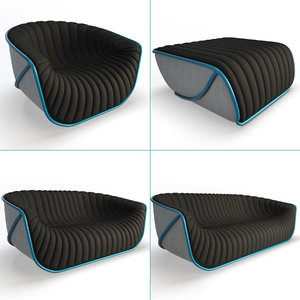 nautil sofa furniture 3D model