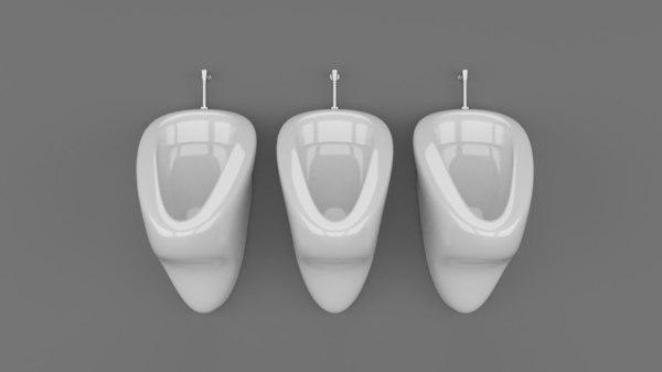 urinal model