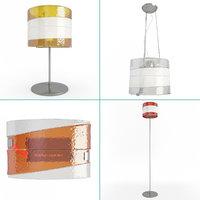 3D riflessi lamps lighting