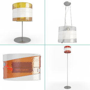 3D riflessi lamps lighting