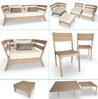 Village Outdoor Wooden Collection