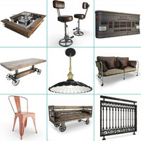 Vintage and Industrial Furniture Collection