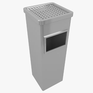 obj ashtray bin