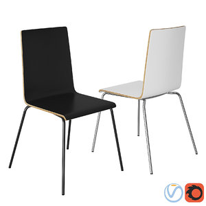 3D chair ikea martin