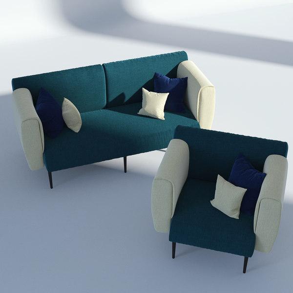 fabric sofa model