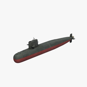 3D model type039 song class sub