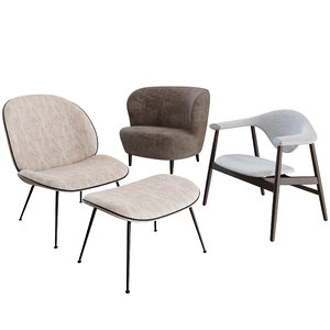 3D masculo lounge chair