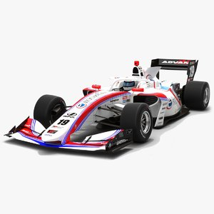 3D model itochu enex team impul