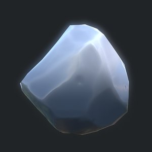 ice rock 3D