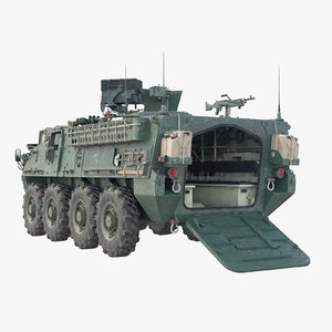 3D m1127 vehicle model
