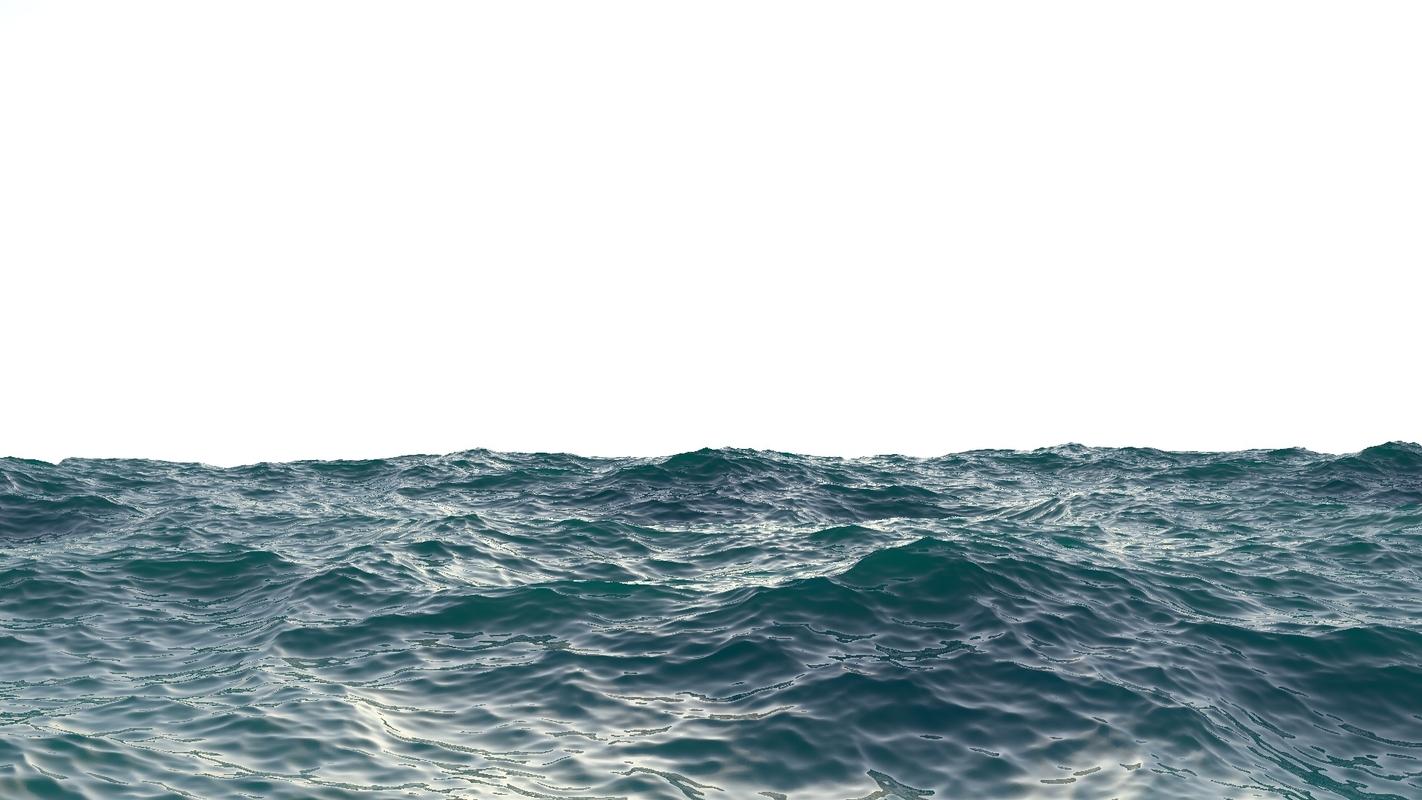 ocean plan surface 3D model
