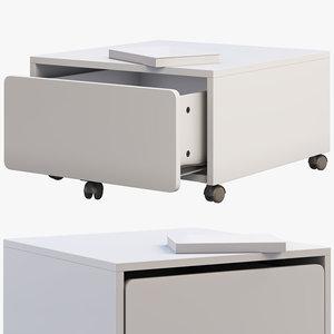ikea slakt storage box 3D model
