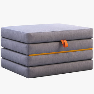 3D ikea slakt mattress