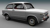 Fiat 850 limousine 1964