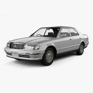 toyota crown 1993 3D