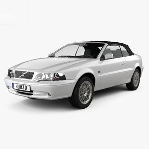 c70 1999 convertible 3D